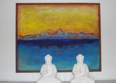 buddha&landscape100x80