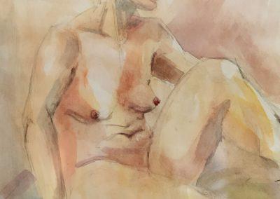 akt-frau-aquarell
